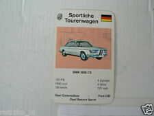 62-SPORTWAGEN/RENNWAGEN TOURENWAGEN BMW 2000 CS