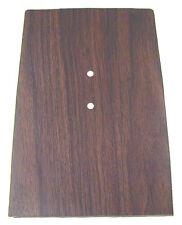 68 Camaro Forward Walnut Woodgrain Console Plate