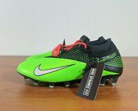 Nike Phantom VSN 2 Elite DF FG Black Green Soccer Cleats CD4161-036 Multi Size