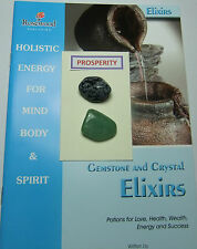 PROSPERITY Gemstone & Crystal Elixirs- includes 2 Gemstones & 2 great books.