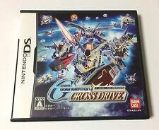 USED Nintendo DS SD Gundam G Generation Cross Drive JAPAN import Japanese game