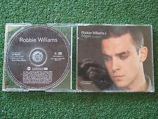 "ROBBIE WILLIAMS ""Angels (En Español)"" VERY RARE & SCARCE Spanish 2000 CD Single"