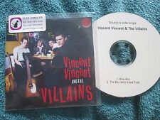 Vincent Vincent And The Villains - Blue Boy /  The Boy Who Killed Time Promo CD