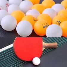 100X balle de ping-pong Table Tennis de table Ping Pong Ball 40mm blanc Jaune