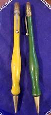 Two (2) Zaner Mechanical Pencils ~ Wood Grips