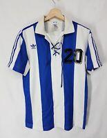 ADIDAS Maglia Calcio uomo vintage 70 shirt ADIDAS vintage 70 rare collection