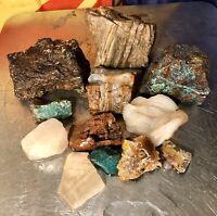 REILLY'S ROCKS: 12 Arizona/New Mexico Minerals Specimens. Excellent Lot!