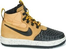 "Nike Lunar Force 1 Duckboot '17(GS) ""Metallic Gold"" 922807-700 Size 6 UK, 39 EUR"