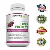 Liver Cleanse - Detoxifier & Regenerator - Natural Ingredients - 60 pills