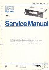 Anleitungen & Schaltbilder Philips Original Service Manual Für Diktiergerät Lfh 0086