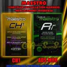 IDATALINK MAESTRO ADS-MRR + ADS-HRN-RR-CH1 ADAPTER / CHRYSLER HARNESS DODGE