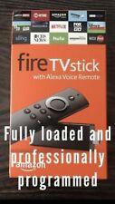 Amazon Fire TV Stick Fully Customized Plus Bonus Read Description