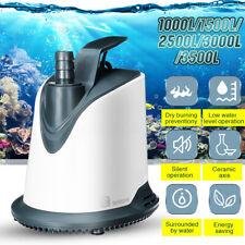 Submersible Water Pump Aquarium Home Garden Fish Pond Tank Fountain Su