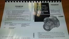 Olympus E-3 Cámara Digital Manual de instrucciones impreso Guía de usuario 163 páginas A5