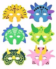 EVA KIDS FOAM MASKS Birthday Party Bag Filler Selection Toys Gift + FREE POST UK