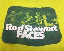VTG 70s THE FACES T-SHIRT ROD STEWART TOUR CONCERT THE WHO ROLLING STONES LARGE
