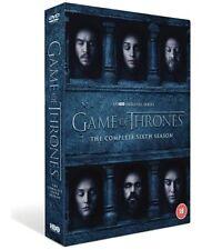GAME OF THRONES SEASON 6 DVD Region 2 UK Free Postage