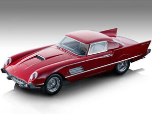 1956 FERRARI 410 SUPER FAST 0483SA RED LTD 1/18 MODEL CAR TECNOMODEL TM18-160B