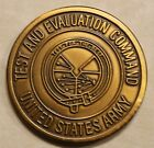 Test and Evaluation Command, Command Sergeant Major CSM Army Challenge Coin