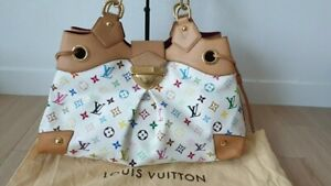 100% Authentic Louis Vuitton Multicolor Ursula  +  Dust cover