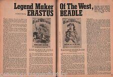 Erastus F. Beadle-Dime Novel Publisher+Adams,BuffaloBill,Greely,Kunzog,Phinney