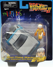 Minimates vehicles BTTF DELOREAN w/ radiation suit MARTY Diamond Select