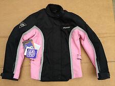 "RK SPORT Ladies Textile Motorbike / Motorcycle Jacket Size UK 8 (32"" Chest) #H58"