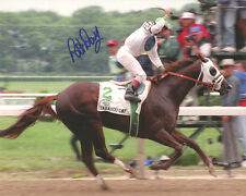 Tabasco Cat 1994 Belmont Stakes Signed 8x10 Photo Pat Day