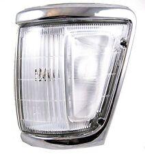 Chrome lampada ad angolo LATERALE PER TOYOTA HILUX Mk3 Pick-up Lens Esterno Sinistro N/S