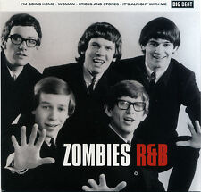 """ZOMBIES  """"I'M GOING HOME + WOMAN + STICKS AND STONES + 1""""  EP  60's  NOW DELETED"""