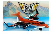 2010 Matchbox Skybusters Metro Commuter orange/black