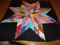 Plastic quilt template - Blazing Star