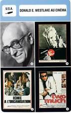FICHE CINEMA :  DONALD E. WESTLAKE AU CINEMA (Bio/Filmo) Point de Non Retour...