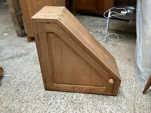 Solid Natural Pine Understairs Sloping Ceiling Cabinet Cupboard
