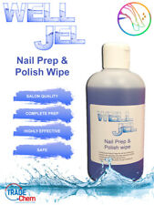 Well Jel Nail Gel Polish Prep + And Wipe UV LED 250ml Manicure IPA