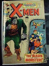The X-Men #40 (Jan 1968, Marvel) Frankenstein Issue