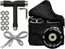 Epic Trailblazer Outdoor Quad Speed Roller Skate Wheels + Bag Bearings Tool