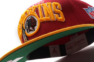 Mitchell & Ness Washington Redskins NFL Arch Fitted Cap Green UV