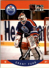 1990-91 PRO SET HOCKEY GRANT FUHR CARD #82 EDMONTON OILERS NMT/MT-MINT