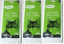 Cat Litter Tray Liners Extra Large Liner x 3 Pack Armitage Bulk Deal