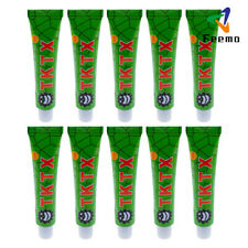 10Stks TKTX 39.9% Numbing Tattoo Skin Anesthetic Numb Cream Semi Permanent Green