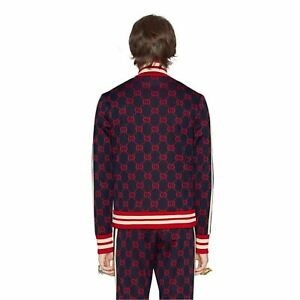 $3,550 BN 2021 Gucci Tracksuit Activeware GG jacquard cotton Size Small