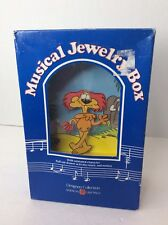 American Greetings Lyle the Lion Animal Crackers Music Box Designer Rog Bollen