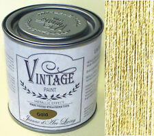 Jeanne d´Arc Living JDL Vintage Paint Metall-Effekt Metallic Farbe 200 ml Gold