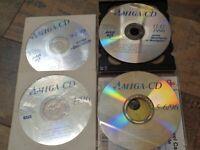 AMIGA --> AMIGA-CD / 4 AUSGABEN / SAMMLUNG