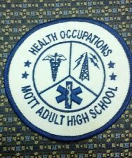 HEALTH OCCUPATIONS MOTT ADULT HIGH SCHOOL PATCH
