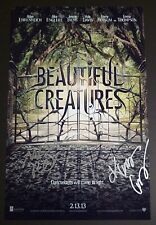 BEAUTIFUL CREATURES Cast(x4) Hand-Signed 11x17 photo Kami Garcia &Margaret Stohl