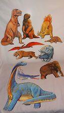 Lot of 10 Dinosaurs School Educational Felt Board Home Flannel