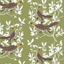 Curtains - Swedish Fabric - Duett Green - Pencil Pleat, Eyelet, Tab Top