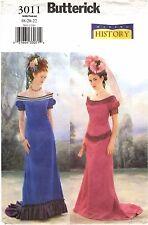 Butterick Sewing Pattern Womens VICTORIAN EDWARDIAN DRESS 3011 Sz 18-20-22 UNCUT